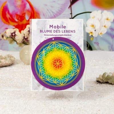 Mobile Blume des Lebens d210mm inkl. Satinband